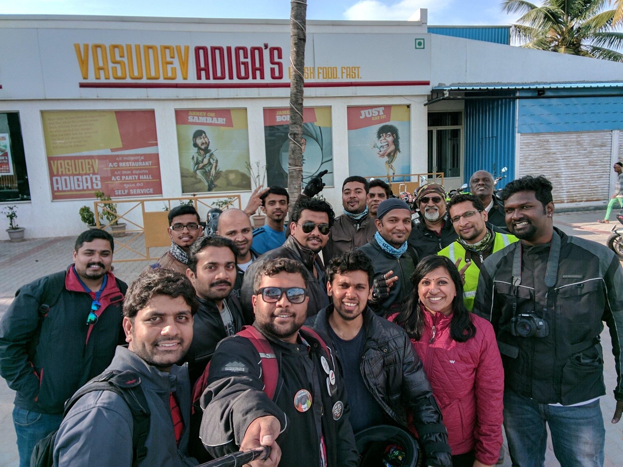 RT members at Kolar Adigas