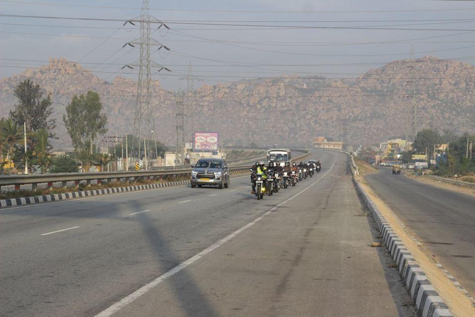 single lane formation