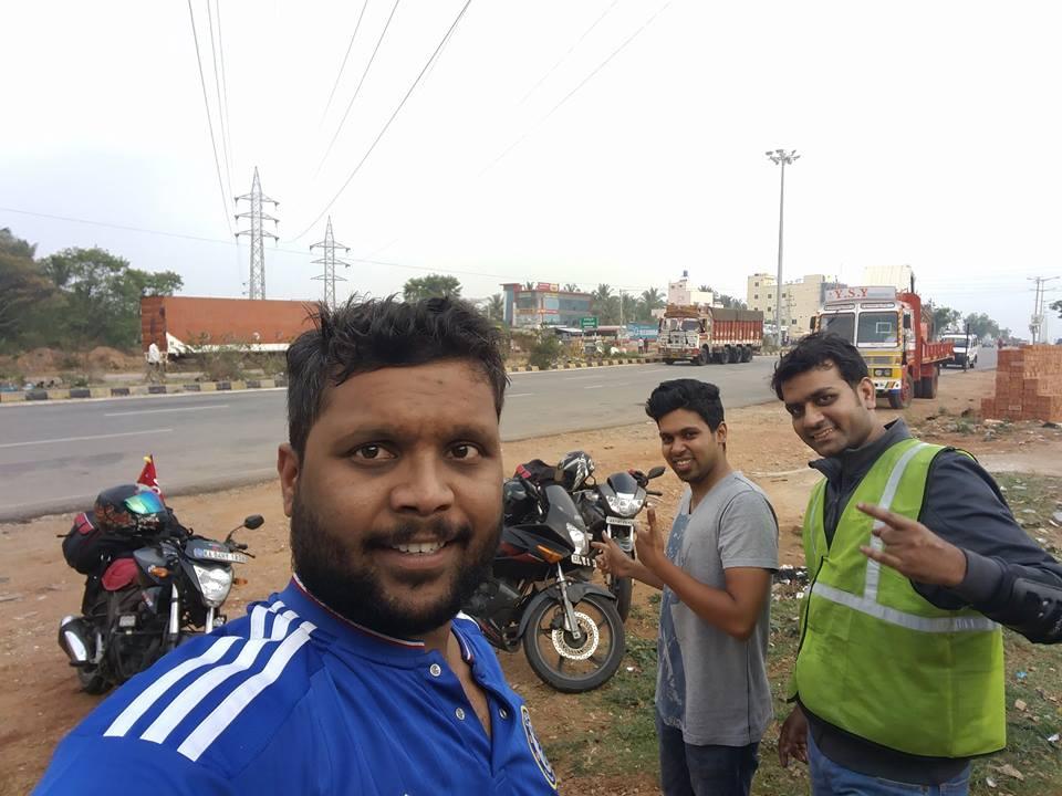 Breakfast at Mysore Ring Road