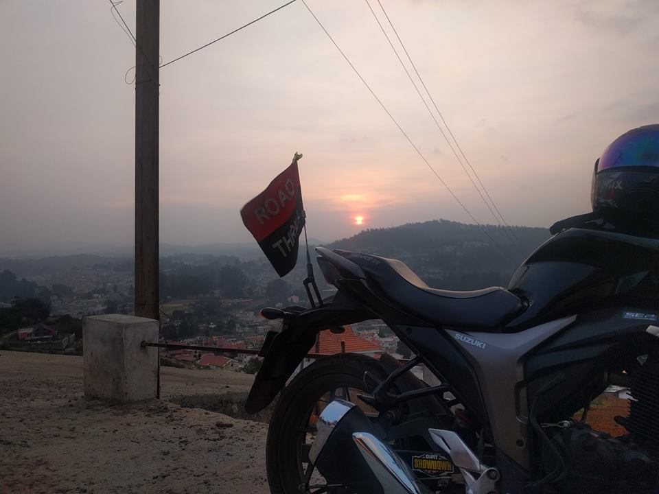 sunset at Ooty
