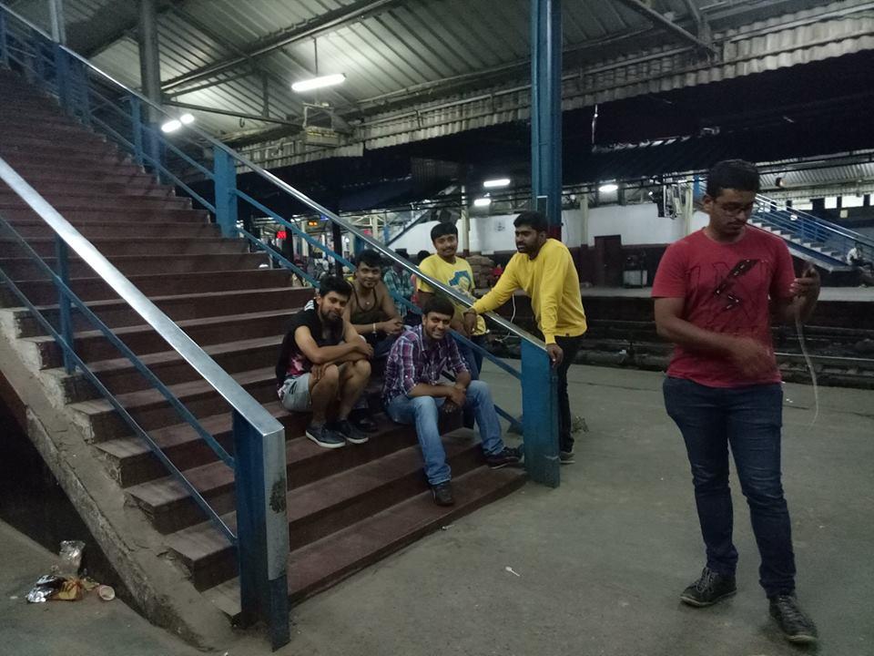 at Delhi Railway Station