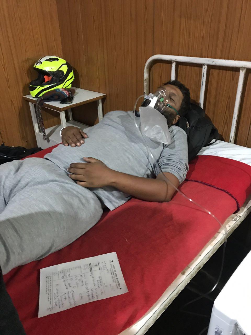 at Keylong Hospital