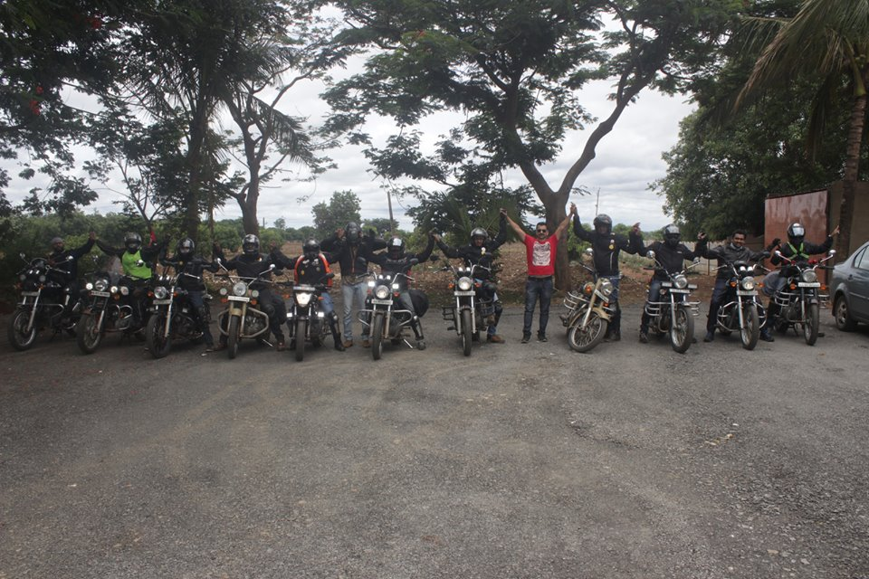 RT Team during Cross Roads
