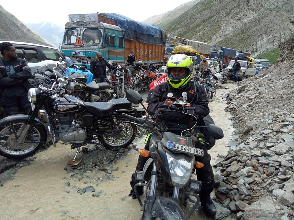 waiting for landslide