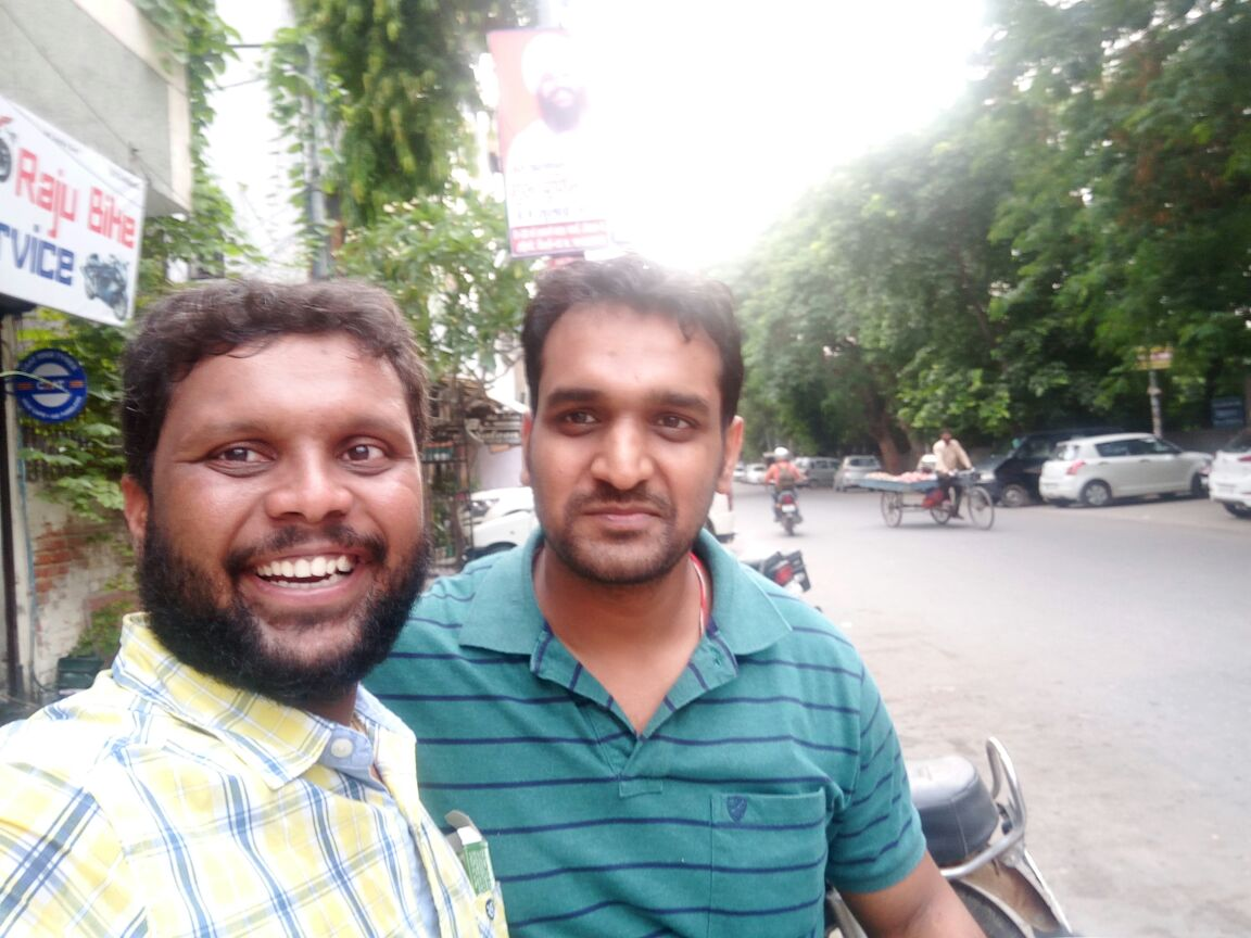 with Harsh Bhai