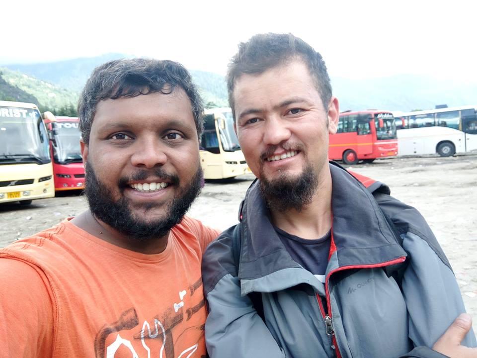 with Rigzin Bhaai