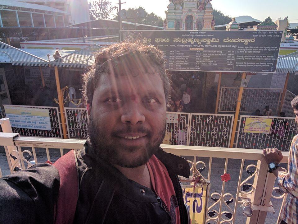 Me at Ghati Subramanya