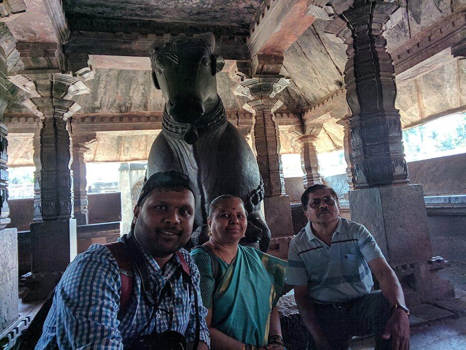 with Family at Banavasi