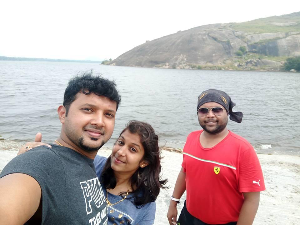 At Mydala Lake