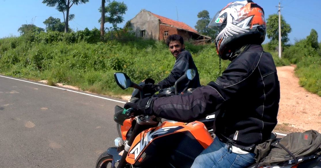 Guiding through the off-road