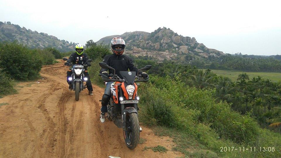 Offroads at Mandargiri