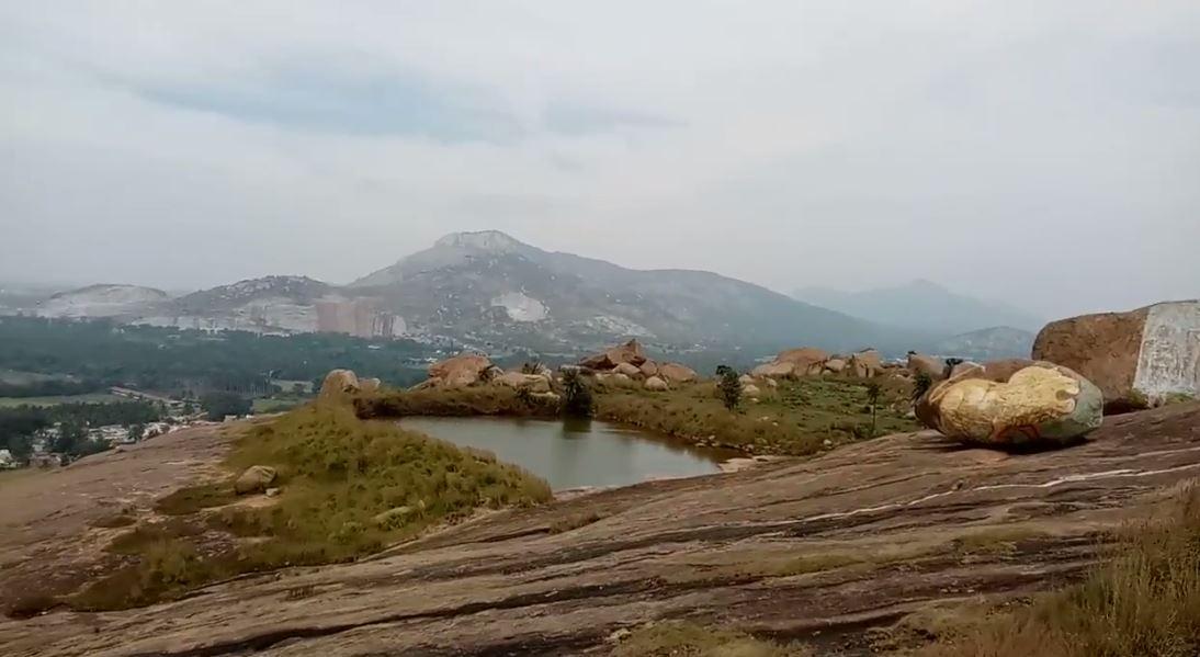 Temple Pond at Mandargiri