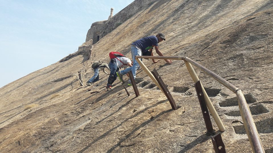 The most difficult stretch at Madhugiri