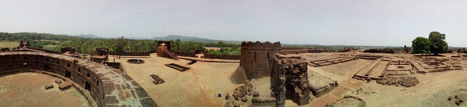 Panoramic View of Mirjan Fort