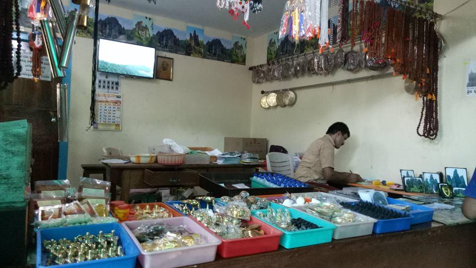 Shop inside Temple Premise