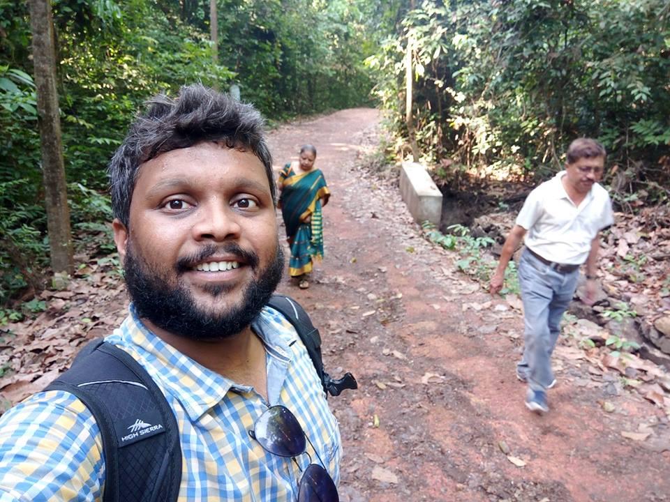 Walking up the Mud lane