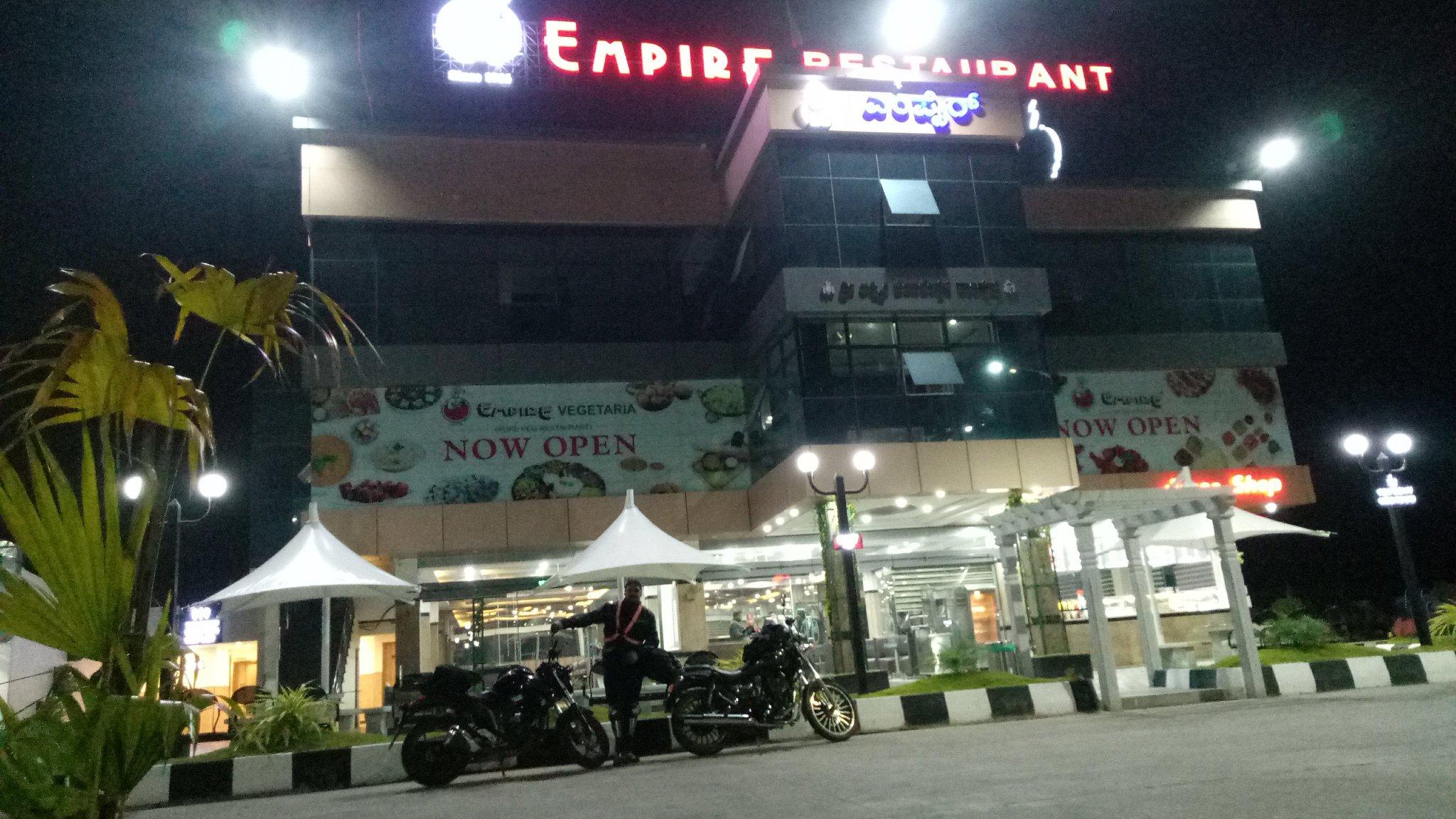 At Empire Hotel Kunigal